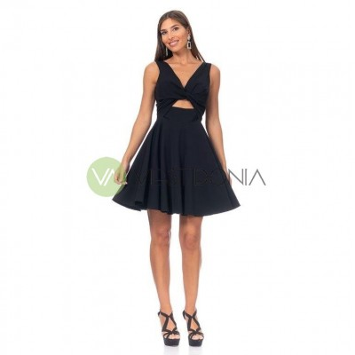 Vestido Paula Negro