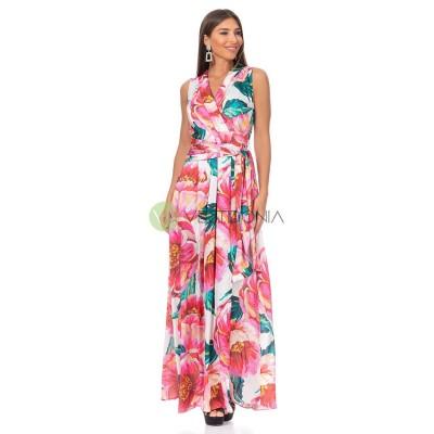 Vestido Salomé Coral