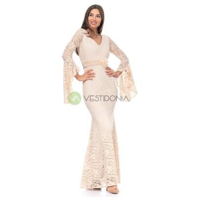 Vestido Carmela Beigs