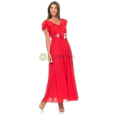 Vestido Melisa Rojo