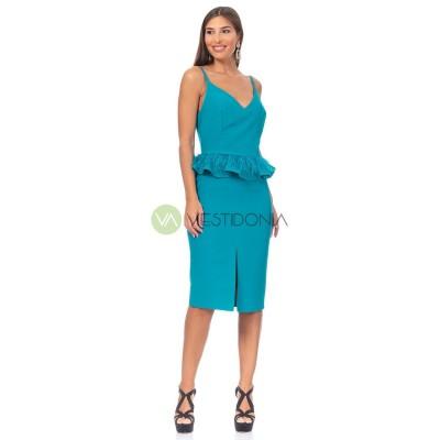 Vestido Laura Azul
