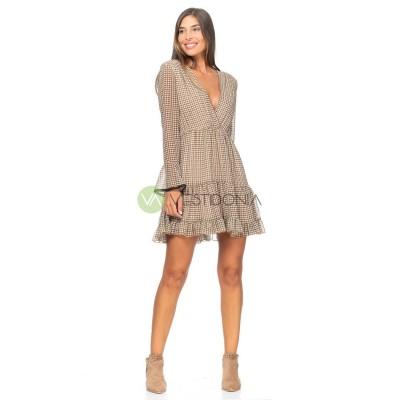 Vestido Cintia Camel